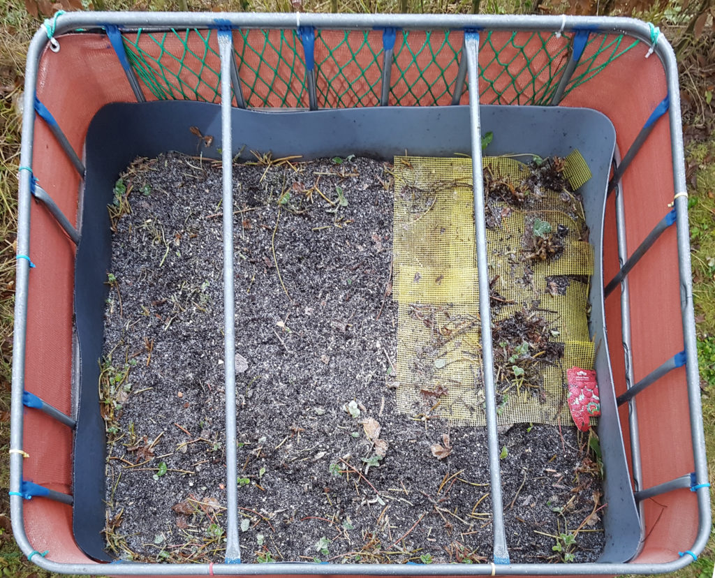 Raised flower bed – 2016-11-07